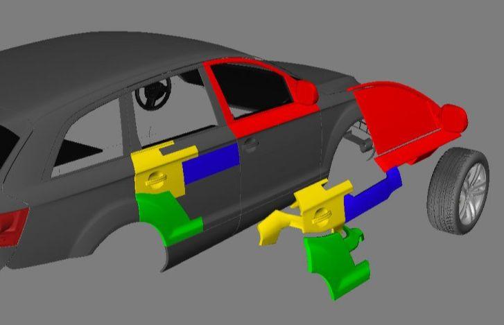 3DsMAX制作超真实的变形金刚建模教程(9)
