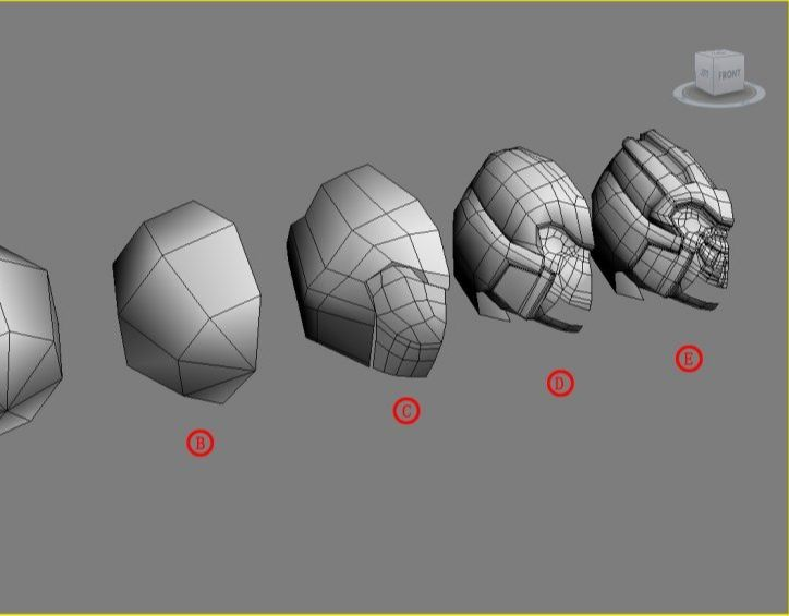 3DsMAX制作超真实的变形金刚建模教程(2)