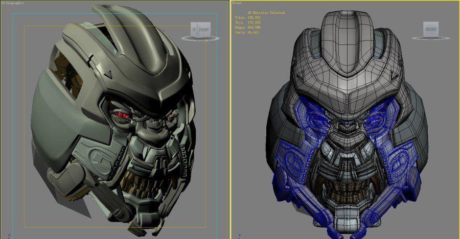 3DsMAX制作超真实的变形金刚建模教程(5)