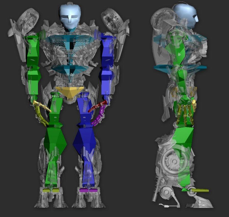 3DsMAX制作超真实的变形金刚建模教程(12)