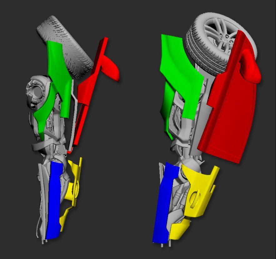 3DsMAX制作超真实的变形金刚建模教程(10)