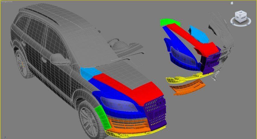 3DsMAX制作超真实的变形金刚建模教程(7)