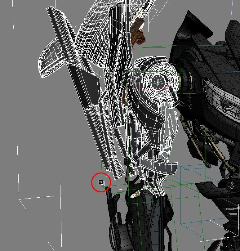 3DsMAX制作超真实的变形金刚建模教程(13)