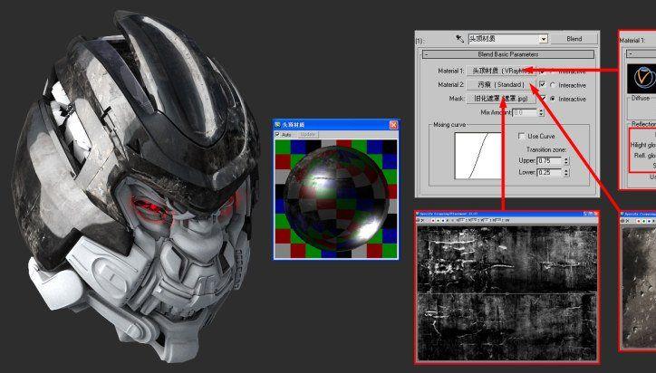 3DsMAX制作超真实的变形金刚建模教程(14)
