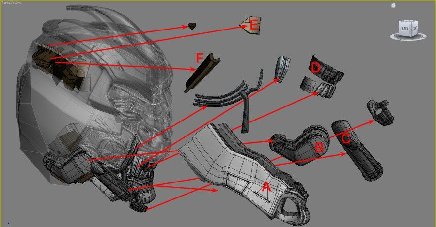 3DsMAX制作超真实的变形金刚建模教程(4)