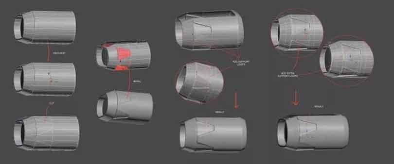 3DsMAX制作硬表面建模教程(6)