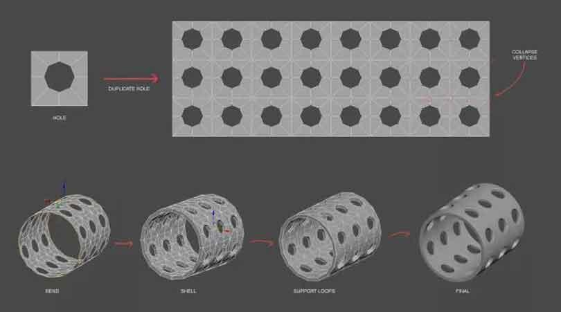 3DsMAX制作硬表面建模教程(9)