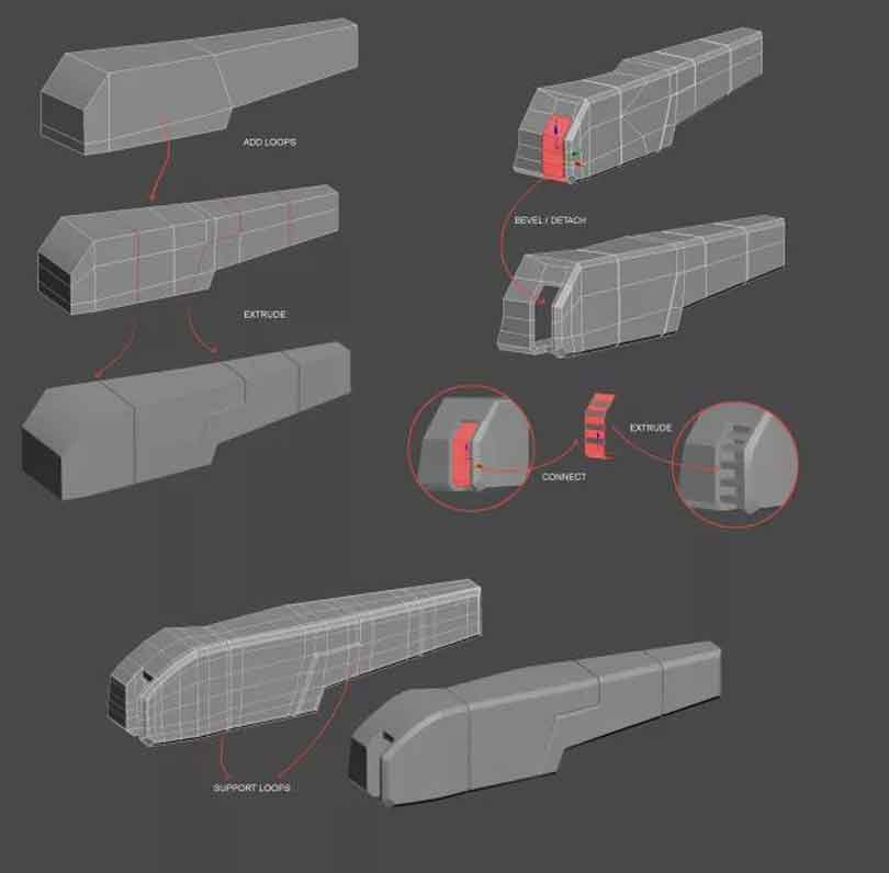 3DsMAX制作硬表面建模教程(4)
