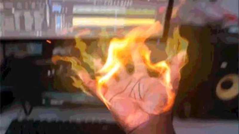 AE制作掌心火焰特效教程