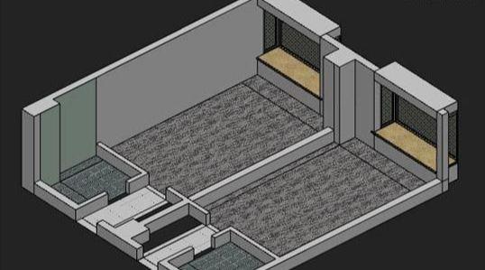 3dsmax制作室内鸟瞰图(3)