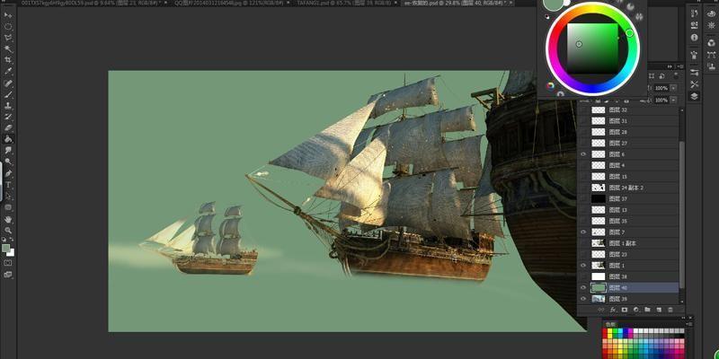 3dsmax海战场景模型制作教程(11)
