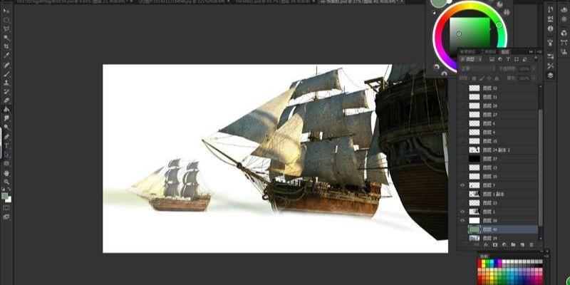 3dsmax海战场景模型制作教程(9)