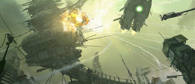 3dsmax海战场景模型制作教程(7)