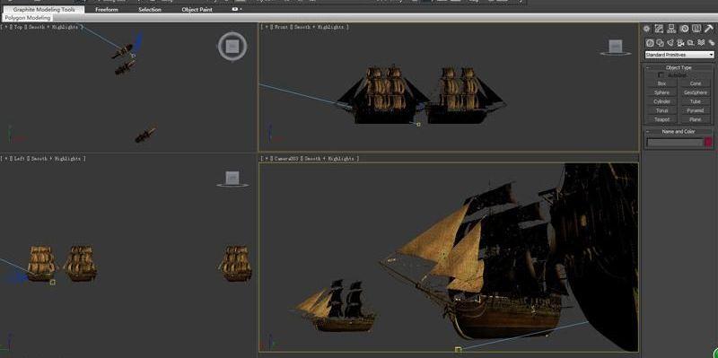 3dsmax海战场景模型制作教程(2)