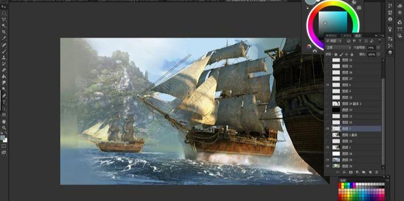 3dsmax海战场景模型制作教程(10)