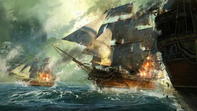 3dsmax海战场景模型制作教程