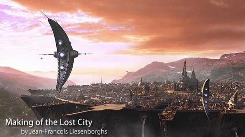 3dsmax制作失落城市建模教程