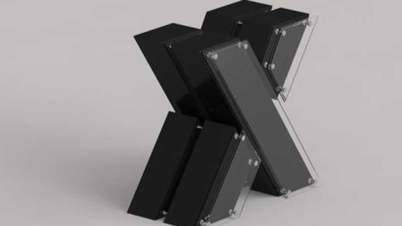 C4D怎么设计立体的金属字体