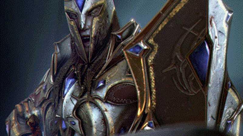 3DMAX多通道贴图绘制血骑士