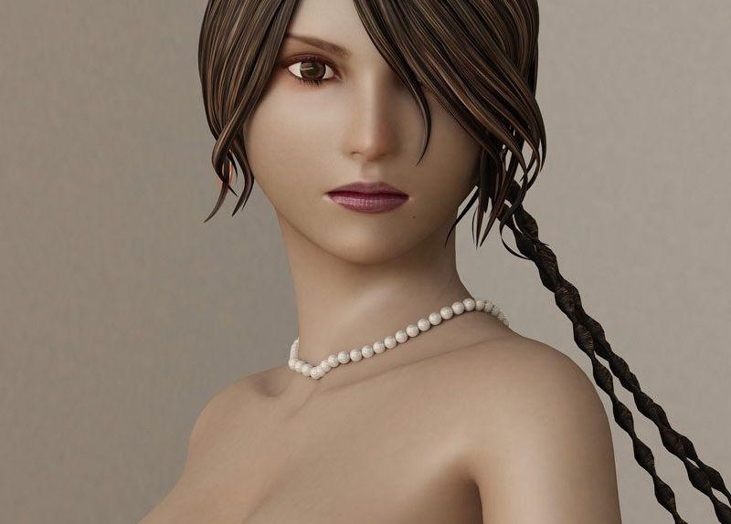 3ds Max创作美女游戏角色建模教程(17)