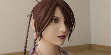 3ds Max创作美女游戏角色建模教程(13)