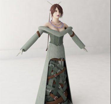 3ds Max创作美女游戏角色建模教程(14)
