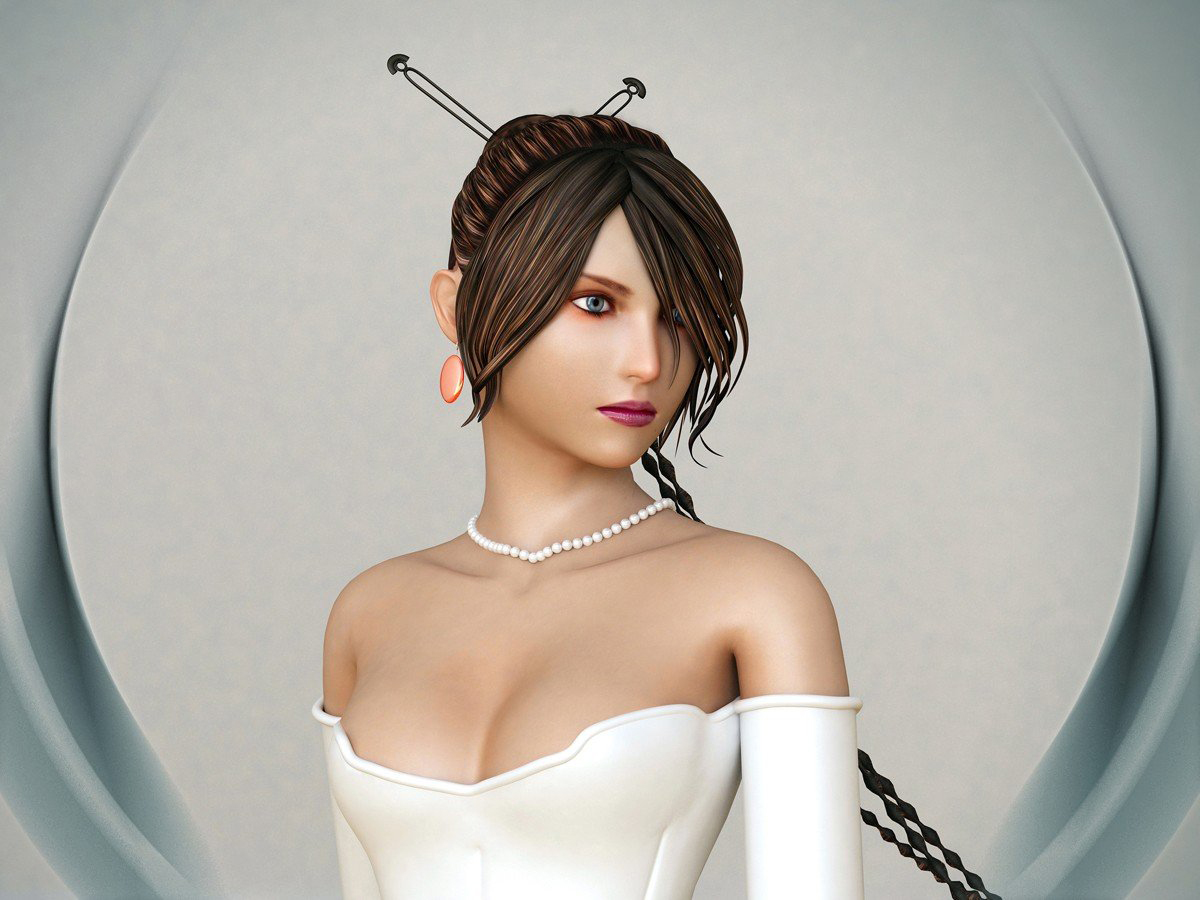 3ds Max创作美女游戏角色建模教程
