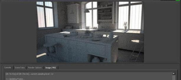 3ds Max打造西式厨房局部模型图(1)