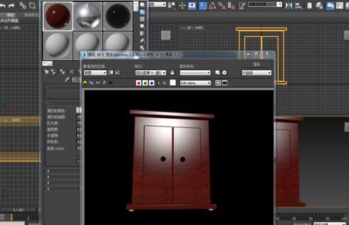 3dmax制作现代版衣柜建模教程(4)