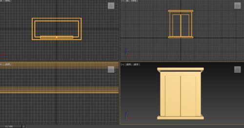 3dmax制作现代版衣柜建模教程