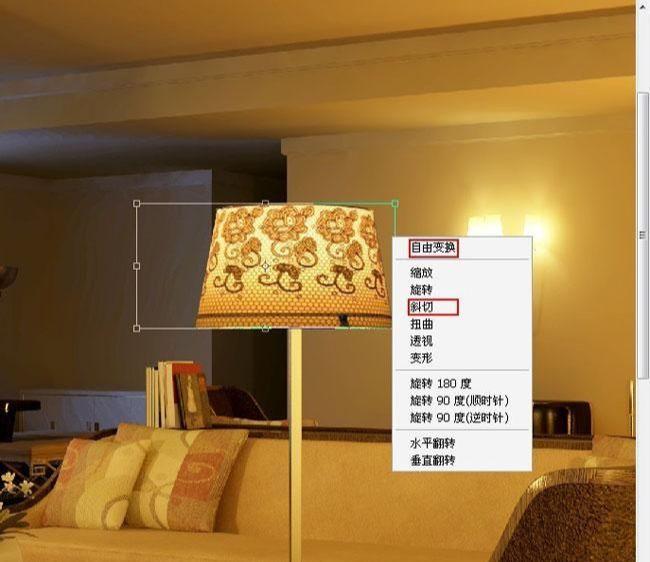 3D MAX欧式客厅夜景渲染教程(72)