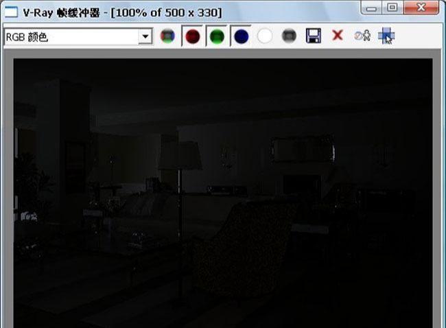 3D MAX欧式客厅夜景渲染教程(38)