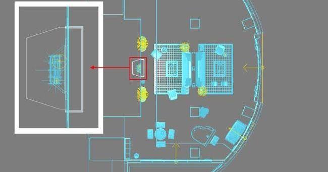 3D MAX欧式客厅夜景渲染教程(49)