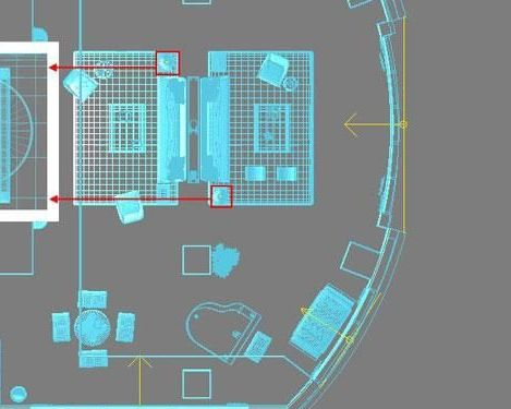 3D MAX欧式客厅夜景渲染教程(39)