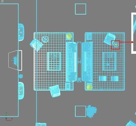 3D MAX欧式客厅夜景渲染教程(42)