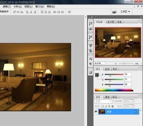 3D MAX欧式客厅夜景渲染教程(64)