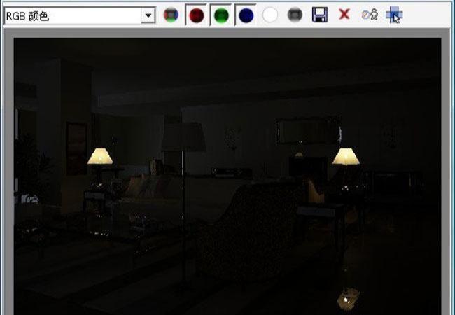 3D MAX欧式客厅夜景渲染教程(41)