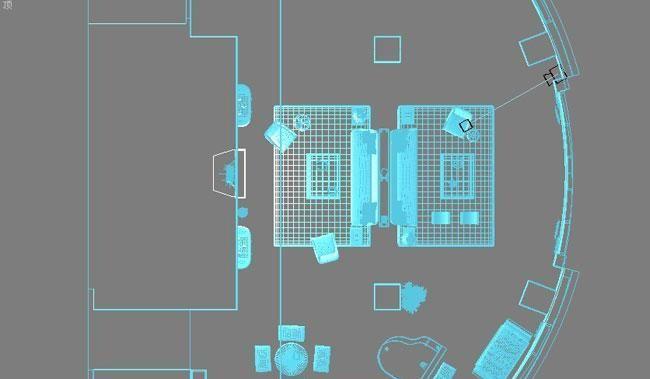 3D MAX欧式客厅夜景渲染教程(1)