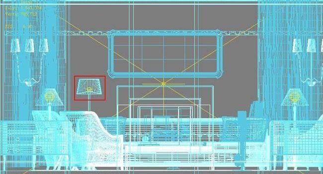 3D MAX欧式客厅夜景渲染教程(43)