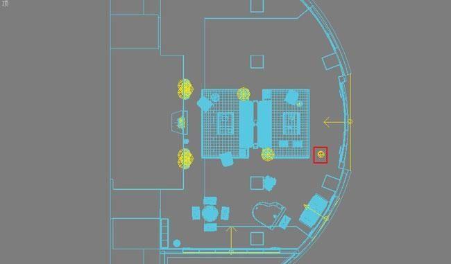 3D MAX欧式客厅夜景渲染教程(53)
