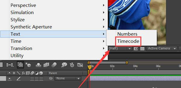 AE怎么给图片添加timecode效果(4)
