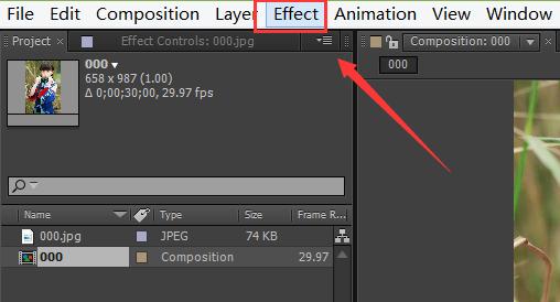 AE怎么给图片添加timecode效果(3)