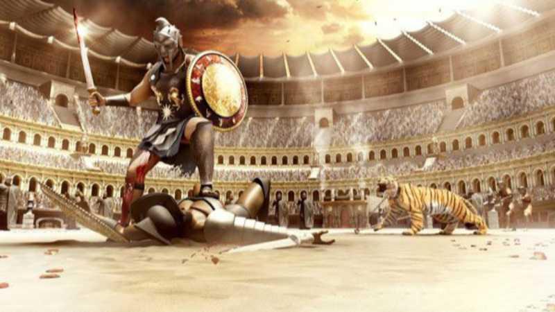 Maya制作古罗马终极战场场景建模