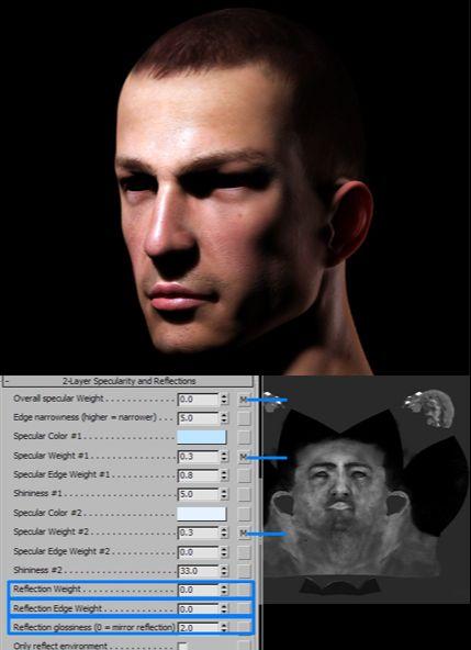 3DSMAX的mental ray皮肤3S材质制作(7)