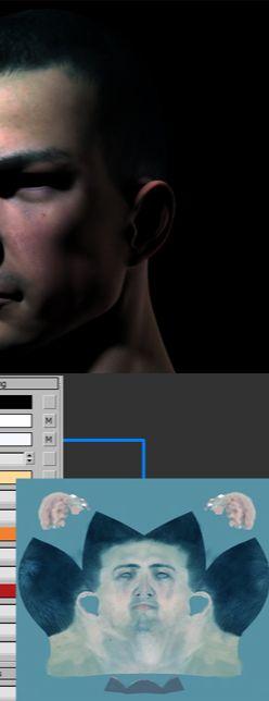 3DSMAX的mental ray皮肤3S材质制作(3)