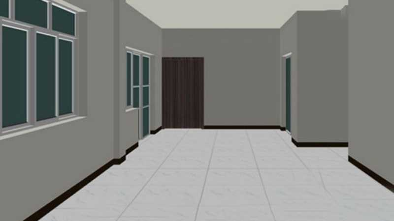 3DsMAX编辑多边形建室内模型
