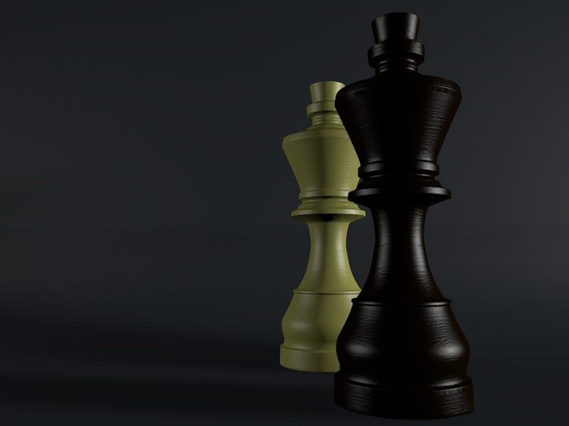 C4D如何用图片来建模制作国际象棋
