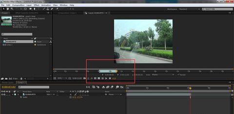 AE怎么剪切视频(2)