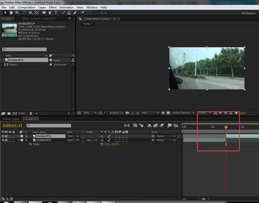 AE怎么剪切视频(4)