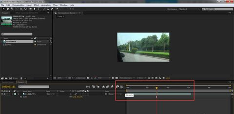 AE怎么剪切视频(3)